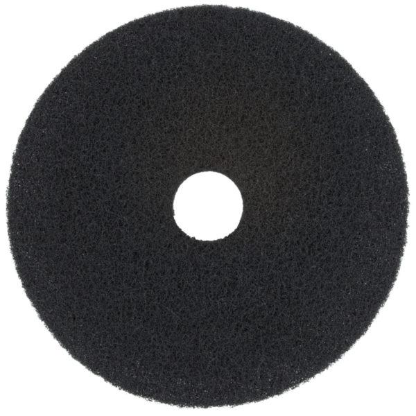 17″ Black Stripping Floor Pad