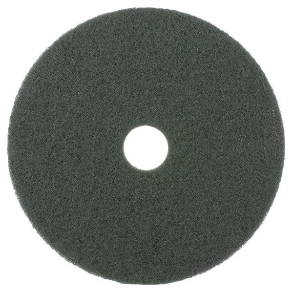17″ Green Scrubbing Floor Pad