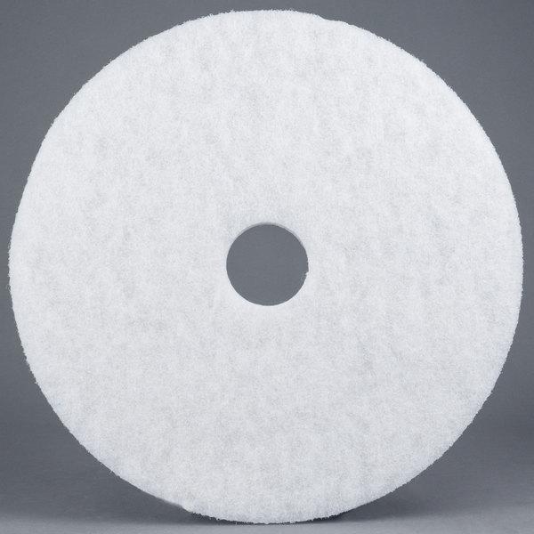 17″ White Super Polishing Floor Pad