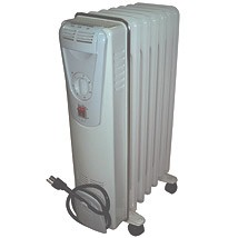 HEATER – ELECTRIC OIL FILLED RADIANT