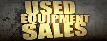 Sales items And Used Equipment