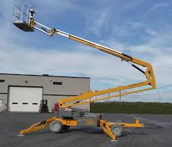 55 Ft. Self Propelled Engine Powered Boom Lift